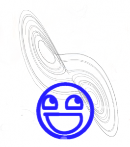 Lorenz Attractors and Awesome-Smiley